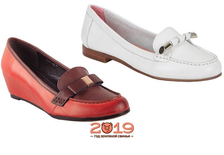 Модные лоферы 2018-2019 года