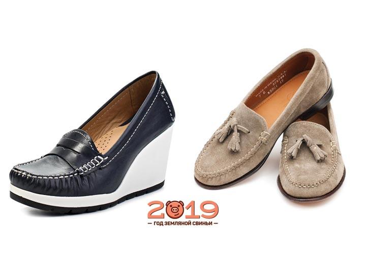 Лоферы в женской моде 2018-2019 года