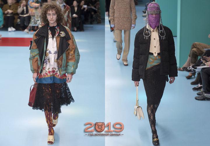 Зимние юбки 2018-2019 года