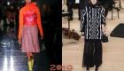 Стильные юбки зимы 2018-2019 года