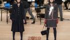 Модные юбки от Шанель осень-зима 2018-2019