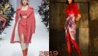 Розовые юбки 2018-2019 года