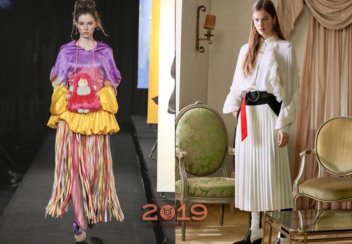 Трендовые юбки сезона осень-зима 2018-2019