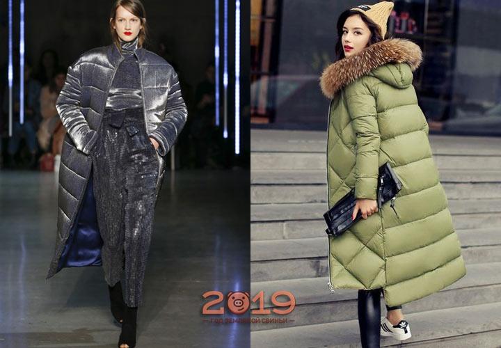 Красивые пуховики 2018-2019 года