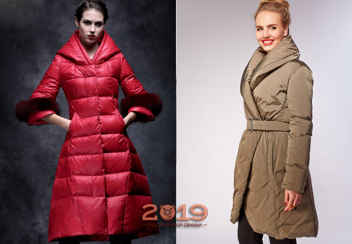 Модные модели пуховиков на зиму 2018-2019 года