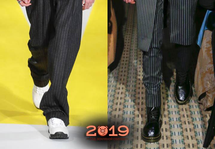 Классическая обувь для мужчин на 2019 год