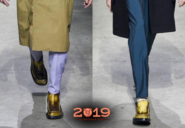 Обувь для мужчин сезона осень-зима 2018-2019