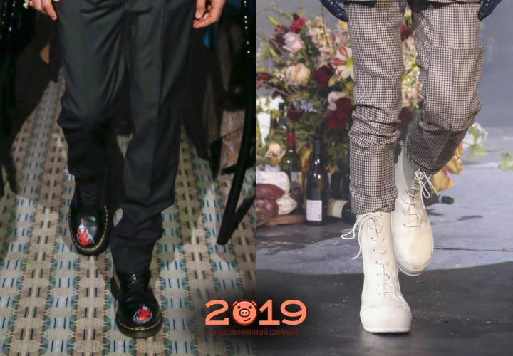 Красивая мужская обувь 2018-2019 года