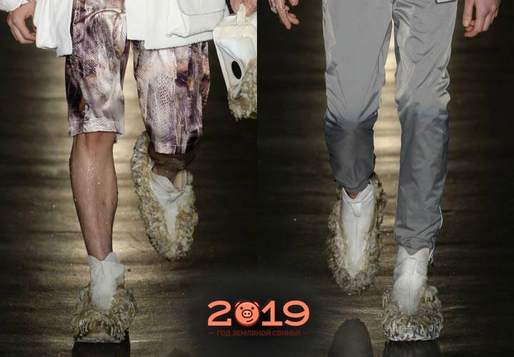 Экстравагантная мужская обувь 2019 года