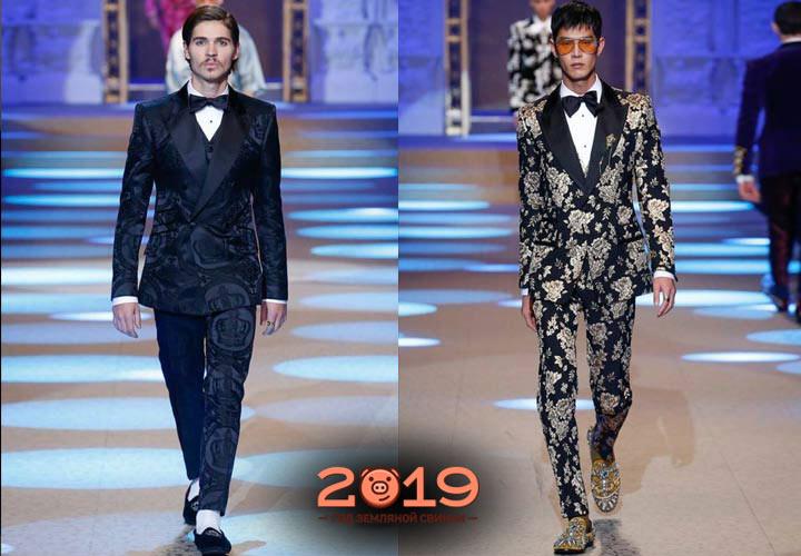 Модные костюмы 2018-2019 года