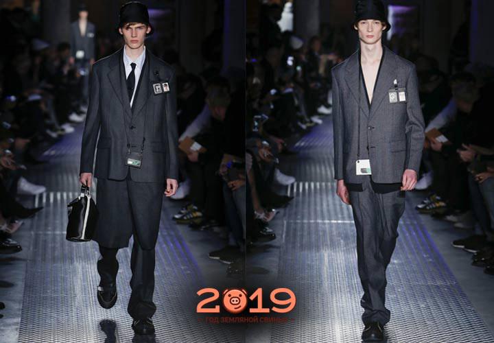 Классический стиль мужская мода 2018-2019