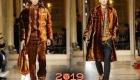 Бархат в мужской моде осень-зима 2018-2019 года