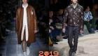 Кожаные куртки зима 2018-2019