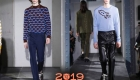 Классический свитер мужская мода 2018-2019 года