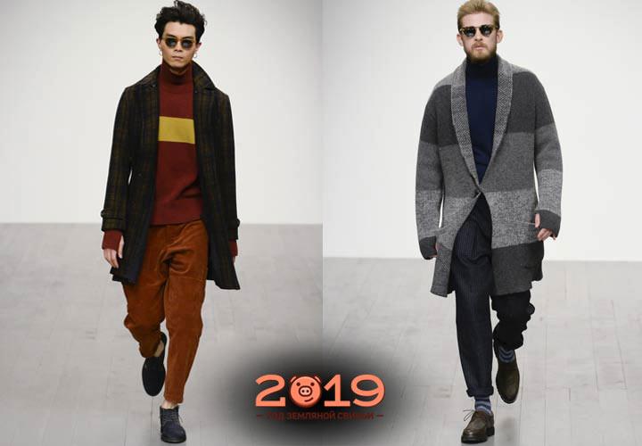 Мужские кофты зима 2018-2019