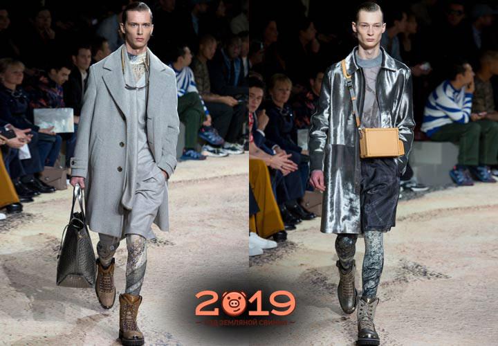 Многослойность мужская мода 2018-2019 года