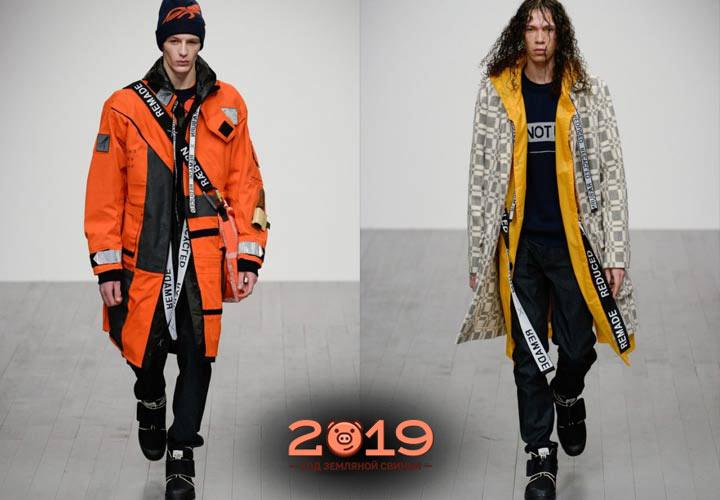 Уличная мужская мода 2018-2019 года