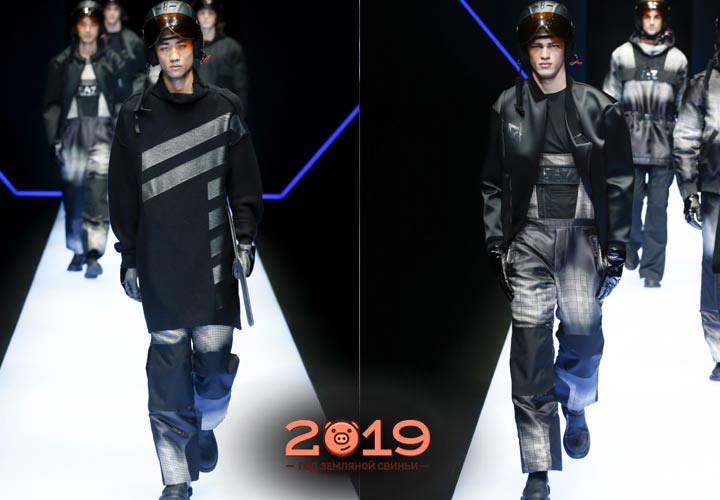 Мужская одежда показы осень-зима 2018-2019