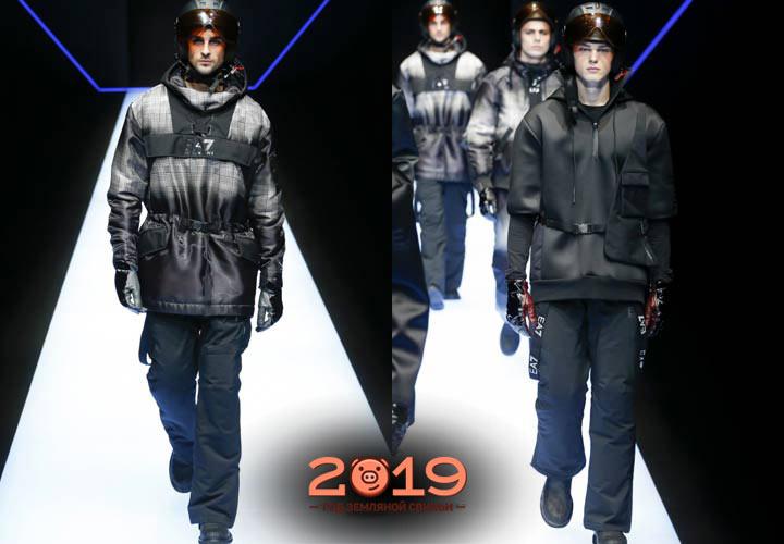 Мужской лук 2019 года