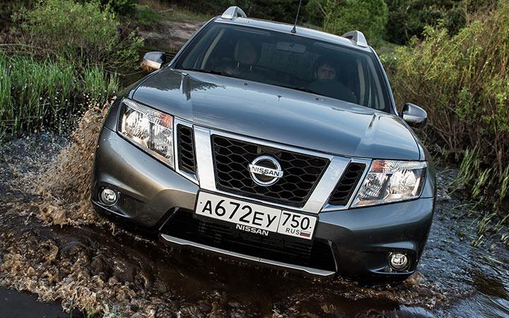 Экстерьер Nissan Terrano 2018-2019 года