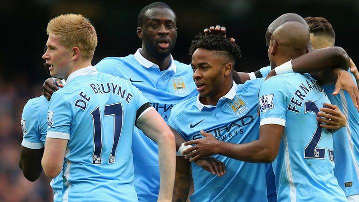 Игроки команды Манчестер Сити