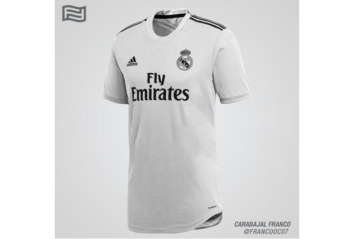 Домашняя форма Реал Мадрида сезона 2018-2019