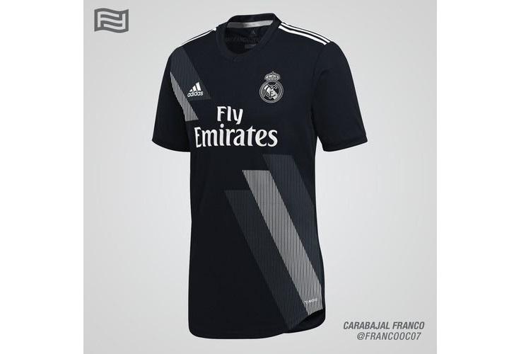 Гостевая форма Реал Мадрида сезона 2018-2019
