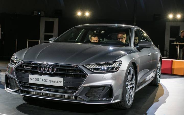 Экстерьер Audi A7 2018-2019