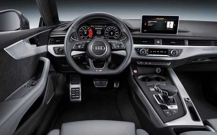 Интерьер Audi Q2 2019