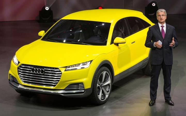Экстерьер Audi Q4 2019
