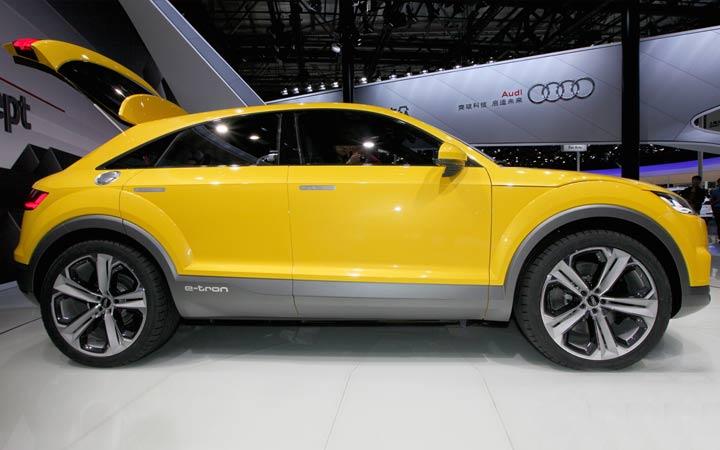 Новый кроссовер Audi Q4 2019