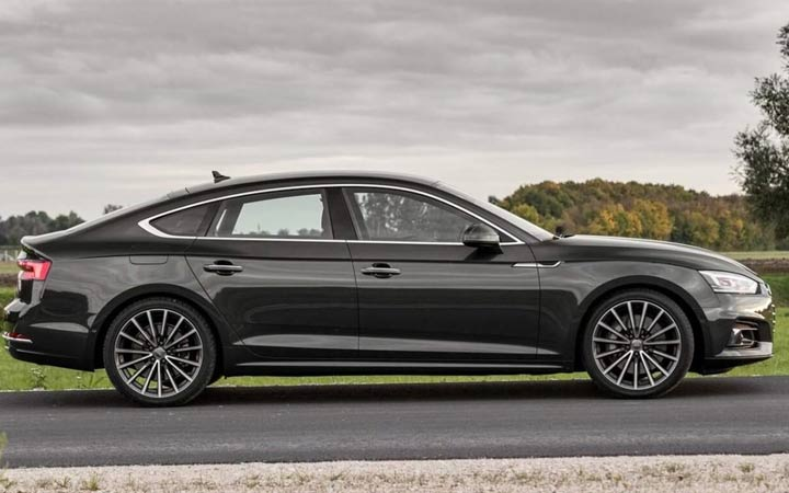 Экстерьер Audi A5 2018-2019