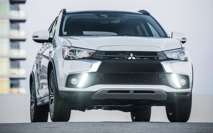 Экстерьер Mitsubishi ASX 2018-2019 года