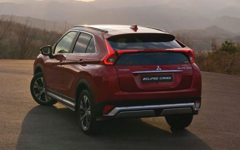 Задний бампер Eclipse Cross 2019 года