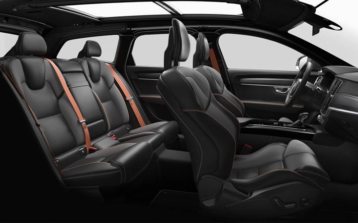 Interior V90 Cross Country 2018-2019