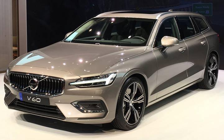 Volvo V60 2018-2019 года