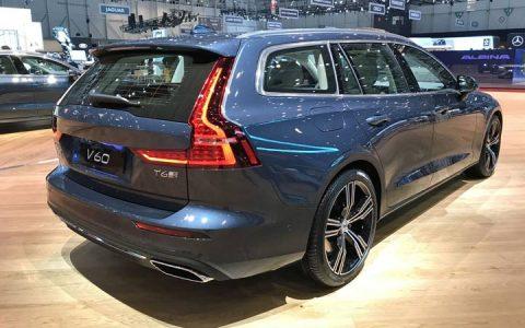 Женева новый Volvo V60 2018-2019