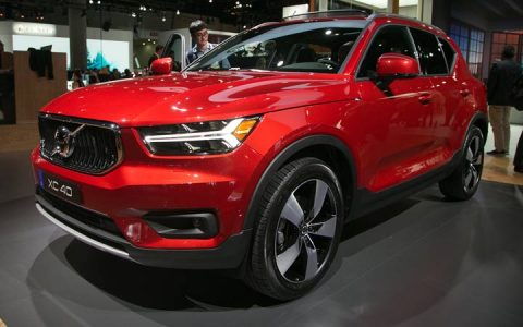 Exterior of the Volvo XC40 2018-2019