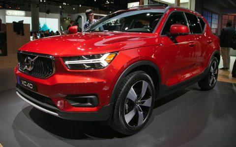 Экстерьер Volvo ХС40 2018-2019