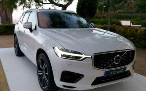 Exterior of the Volvo XC60 2018-2019