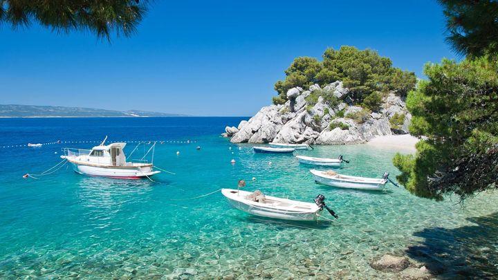 Лодки у побережья Турции
