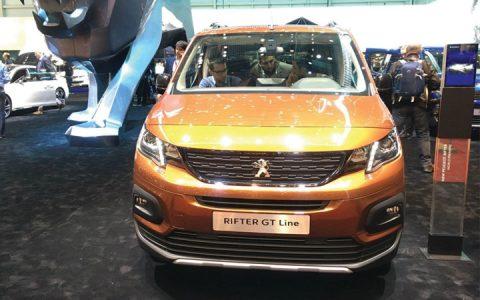 Экстерьер Peugeot Rifter 2018-2019