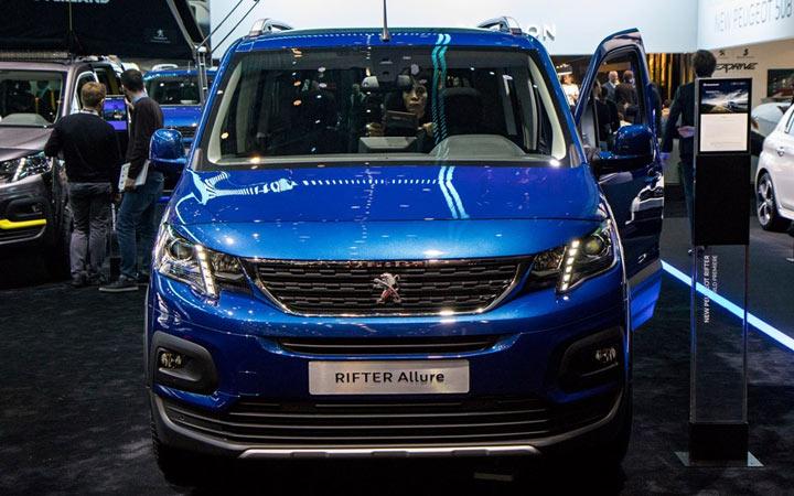Женева Peugeot Rifter 2018-2019