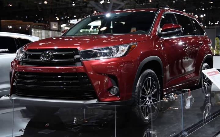 Toyota Highlander 2018-2019