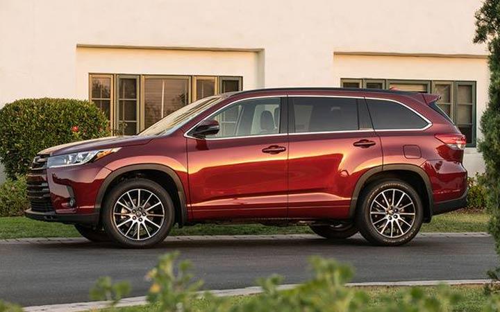 Экстерьер Toyota Highlander 2018-2019