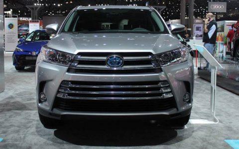 Toyota Highlander гибрид 2018-2019