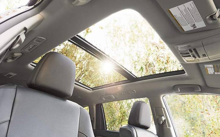 Панорамный люк Toyota Highlander 2018-2019