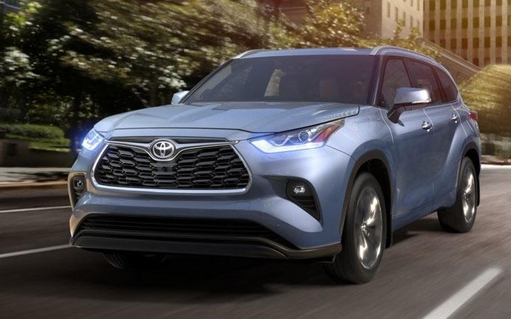 Экстерьер Toyota Highlander 2019 года
