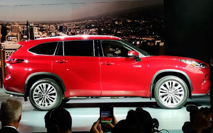 Моторная гамма Toyota Highlander 2019 года