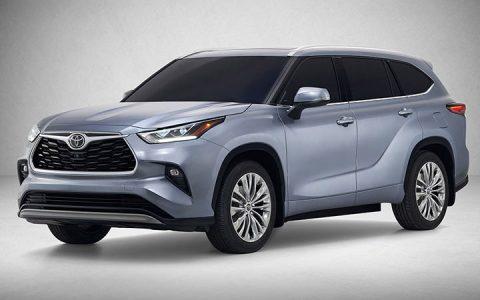 Экстерьер Toyota Highlander 2019-2020 года